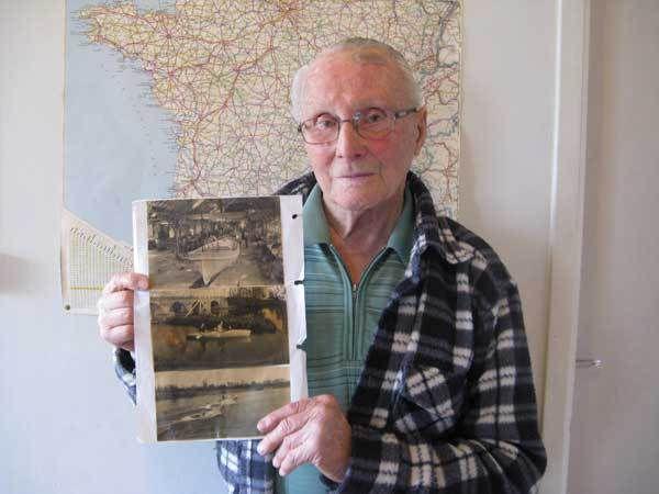 Sylvain Louchet l'un des réfugiés de Courbevoie
