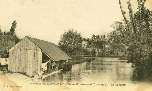 Lavoir de Coëmont sur le Loir