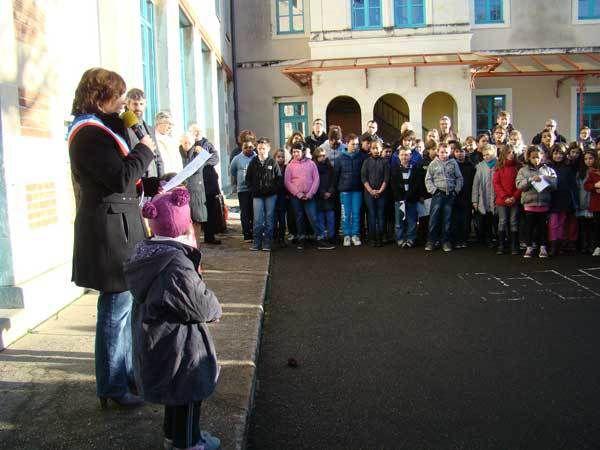 70 ans après, la résistante Gabrielle Legras, est honorée par la municipalité