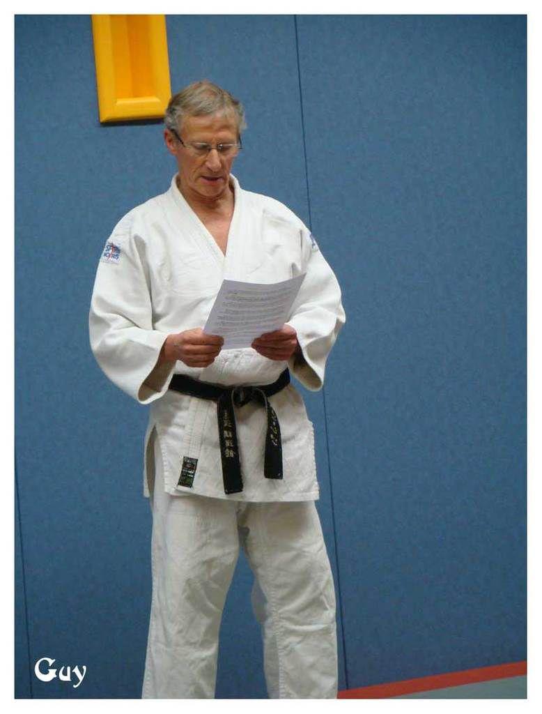 Des vœux pour rappeler les valeurs morales du judo