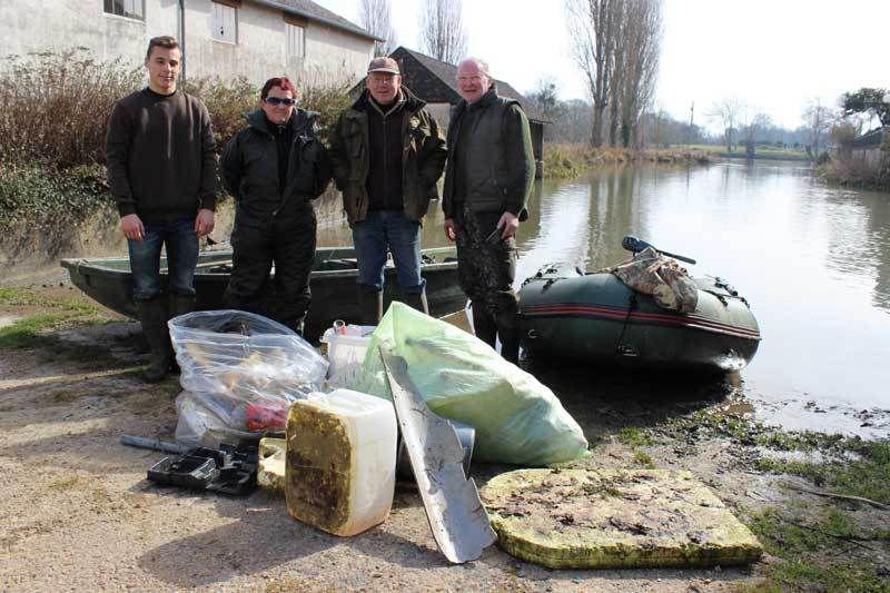 Pêche miraculeuse dans le Loir