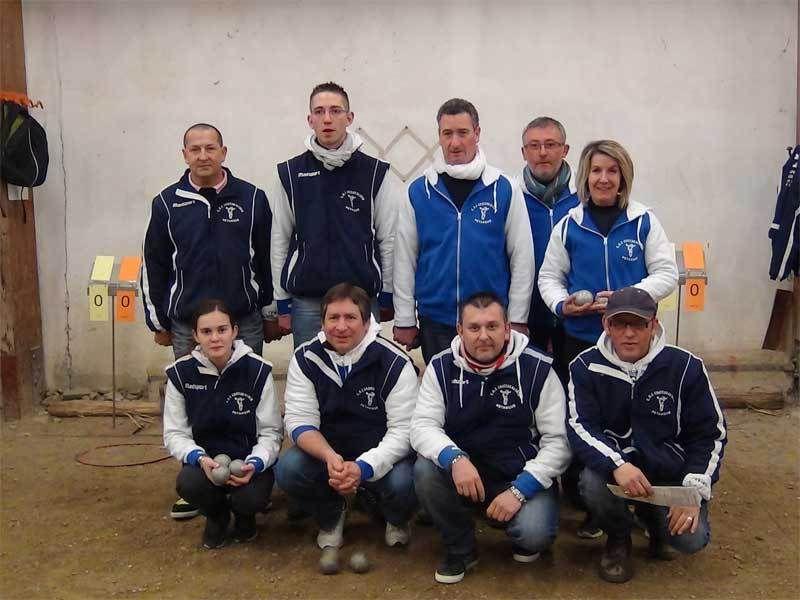 Equipe Coupe de France - Equipe vainqueur du concours à Arnage