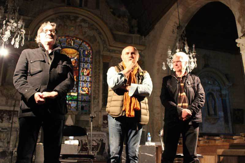 Armand Meignan, Claude Denis et Jacky Virlouvet