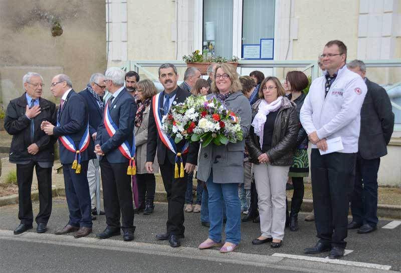 CÉRÉMONIE DU 8 MAI à Thoiré-sur-Dinan