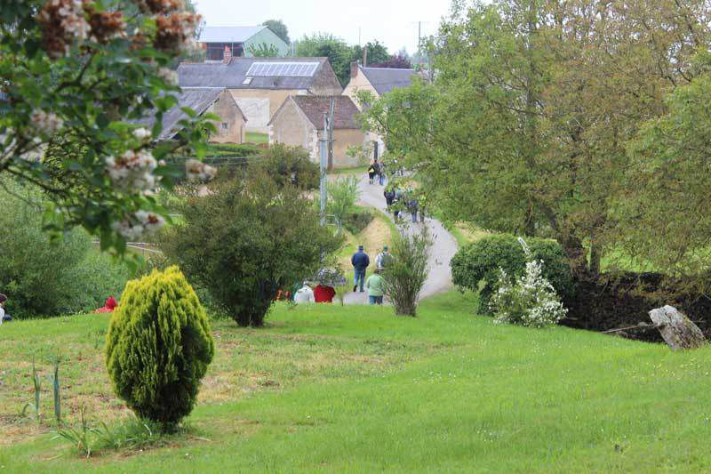 600 randonneurs à la Rando Ferme de St Pierre de Chevillé