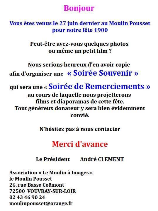 Info Moulin Pousset