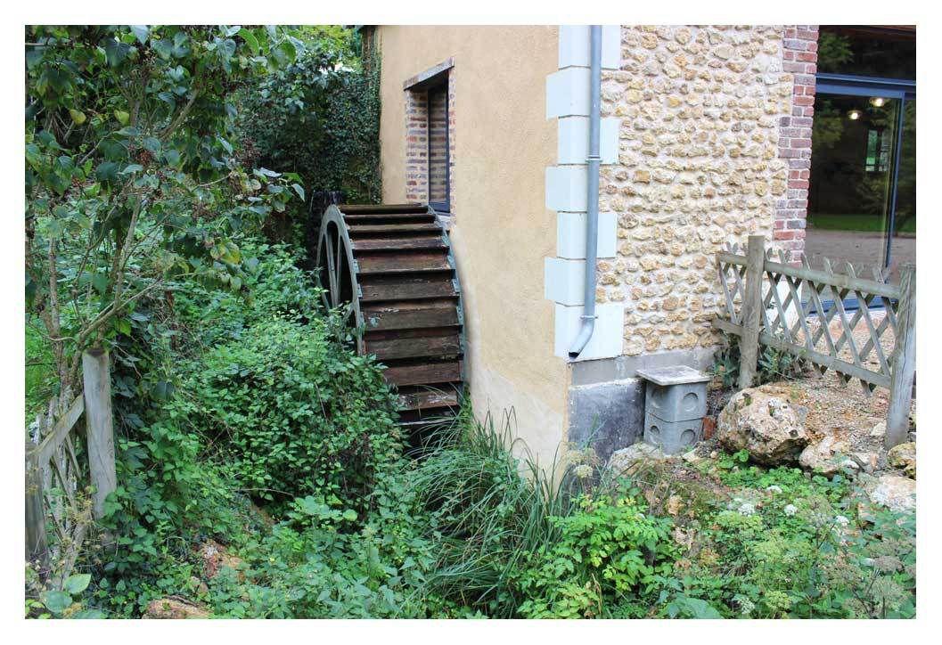 Le gîte  &quot&#x3B;Moulin d'Hilleraie&quot&#x3B; à Luceau