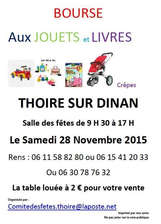 Bourse aux Jouets à Thoiré-sur-Dinan