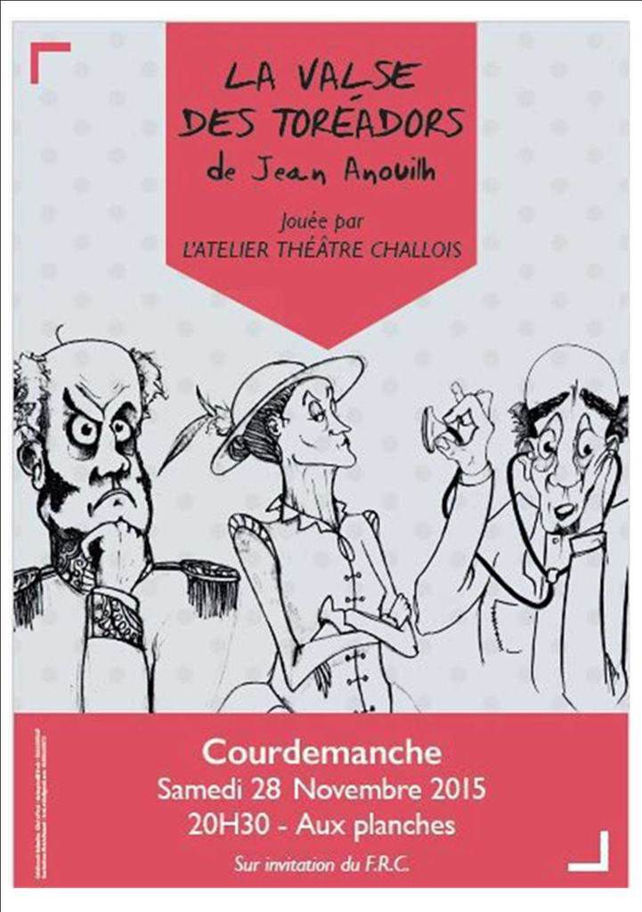 Th tre courdemanche le petit cast ropode 2018 for Une farce au theatre