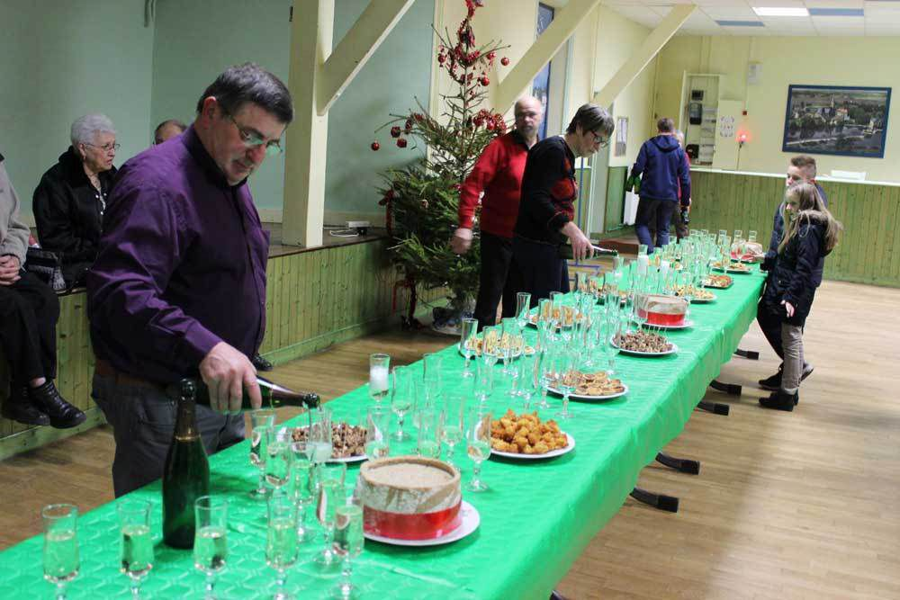 Cérémonie des voeux à Nogent-sur-Loir