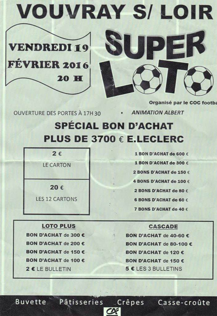 Super Loto du COC Foot