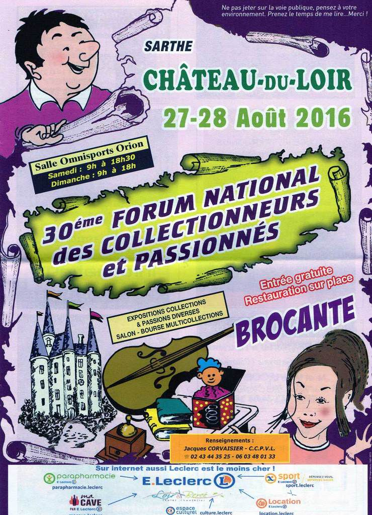 30 ème Forum National des Collectionneurs