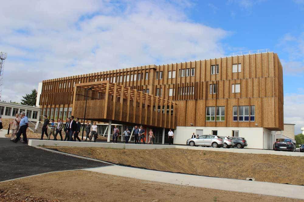 Inauguration de la restructuration du Lycée racan