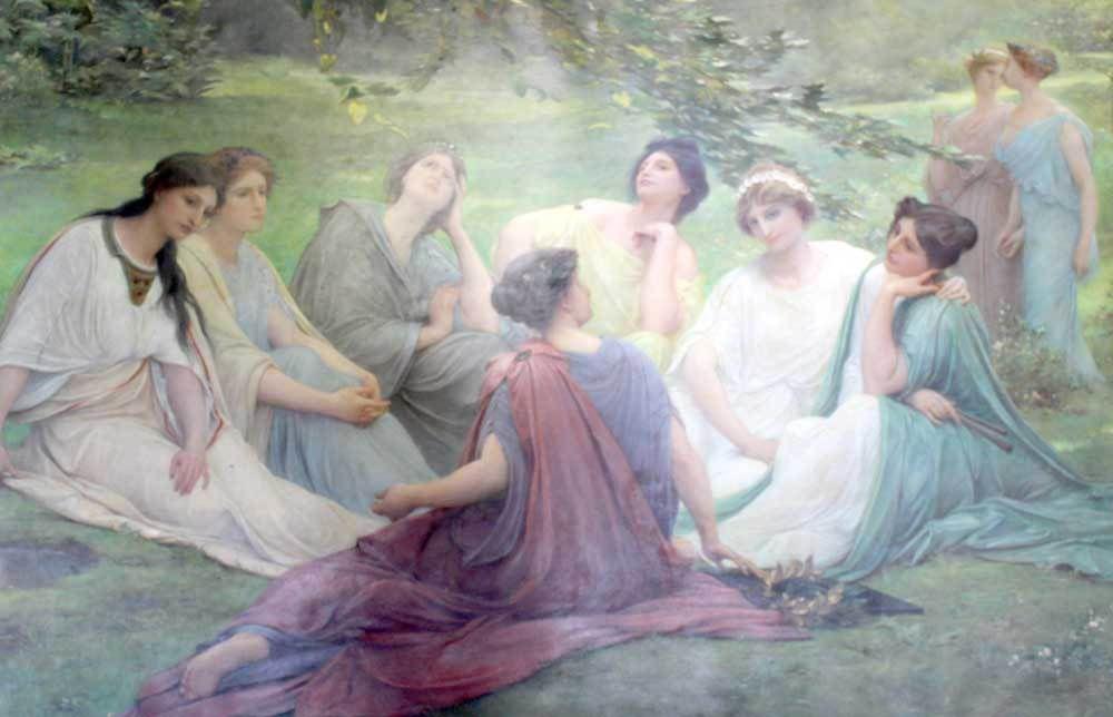 Les Muses de Lionel Royer