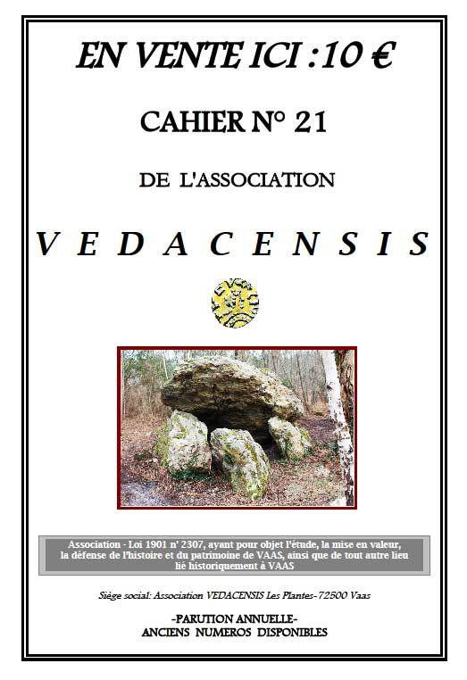Info association &quot&#x3B;Védacensis&quot&#x3B; de Vaas