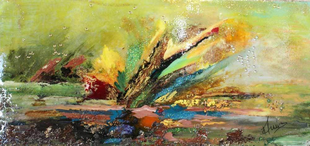 Explosion de formes et de couleurs au Caveau