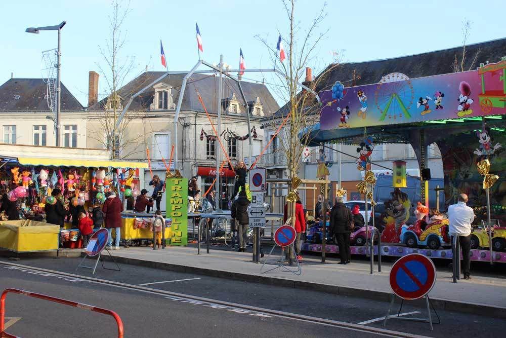 Animations de Noël sur la Place de l'Hôtel de Ville