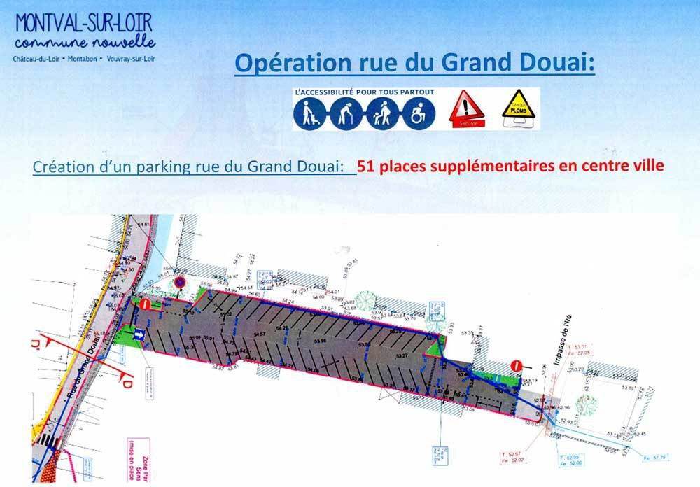 Bientôt un parking de 51 places