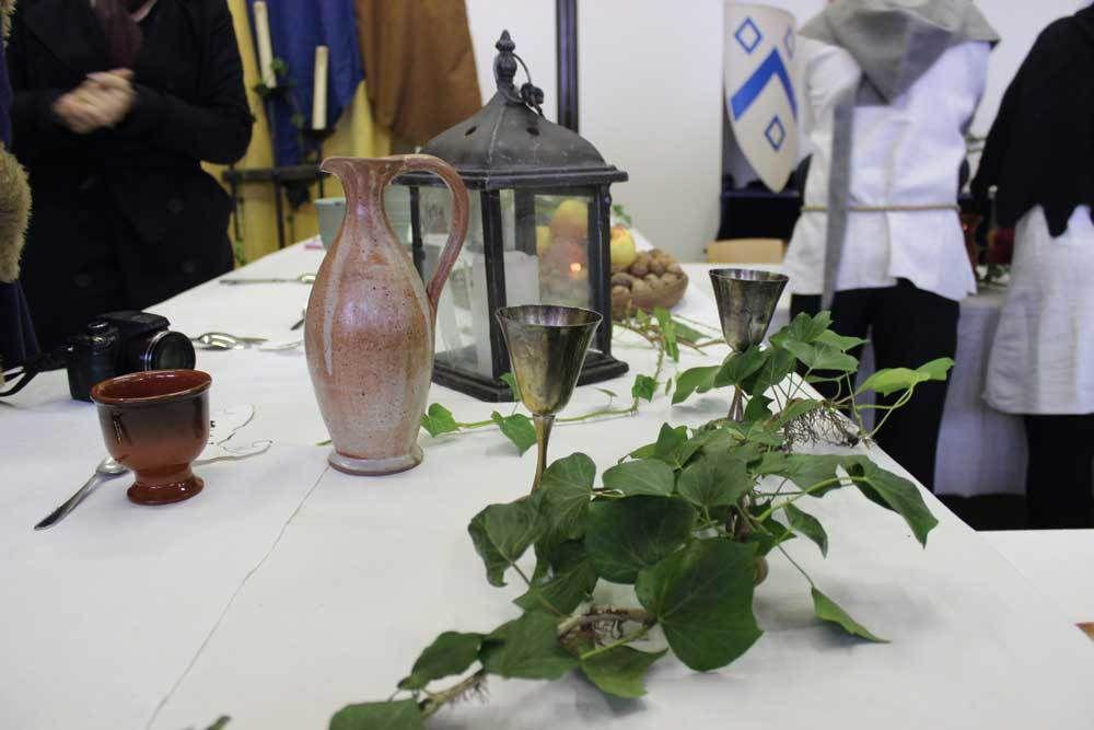 Un repas médiéval au Lycée Professionnel