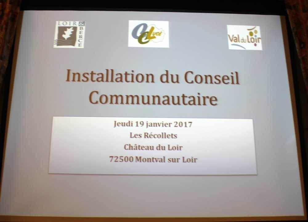Election du Conseil Communautaire de Loir Lucé Bercé