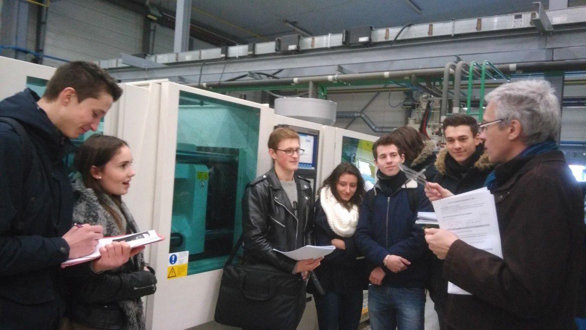 Les lycéens de RACAN  à l'ISPA d'Alençon