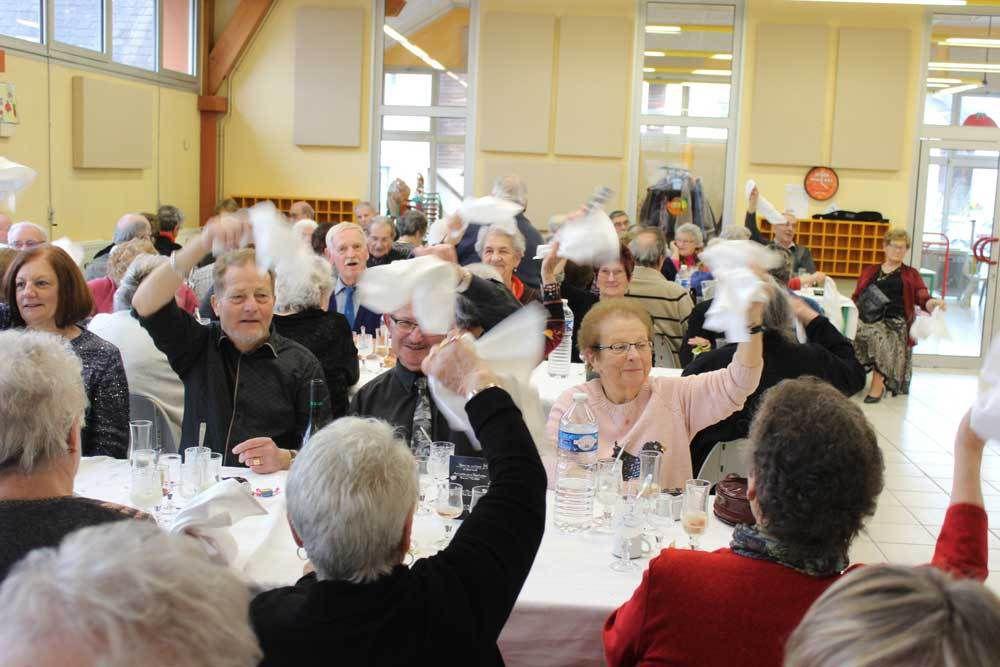 120 personnes au repas des plus de 70 ans