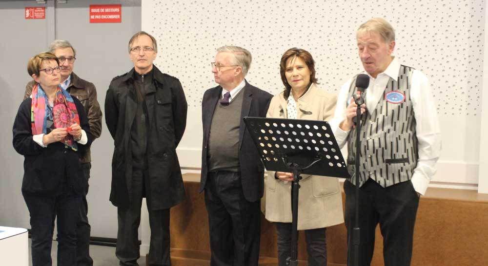 Inauguration du Pôle Associatif &quot&#x3B;Sainte-Cécile&quot&#x3B;