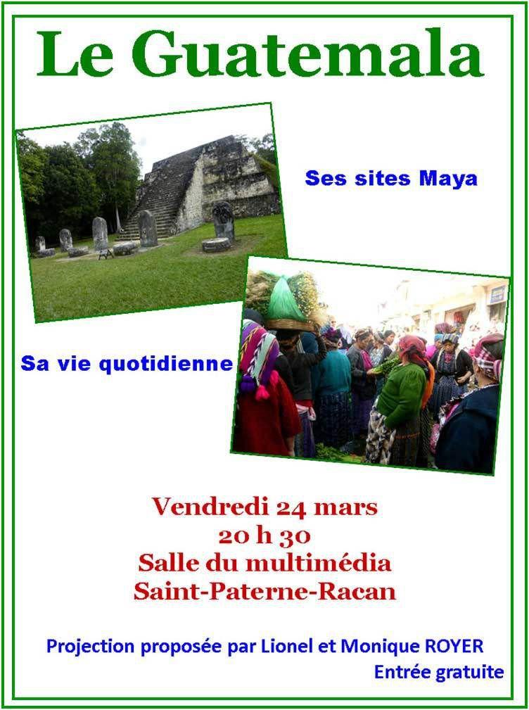Conférence sur le Guatémala