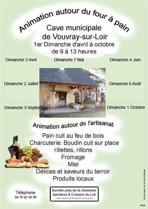 Animation de la Cave de Vouvray-sur-Loir