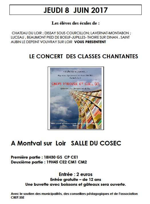 Concert des Classes Chantantes