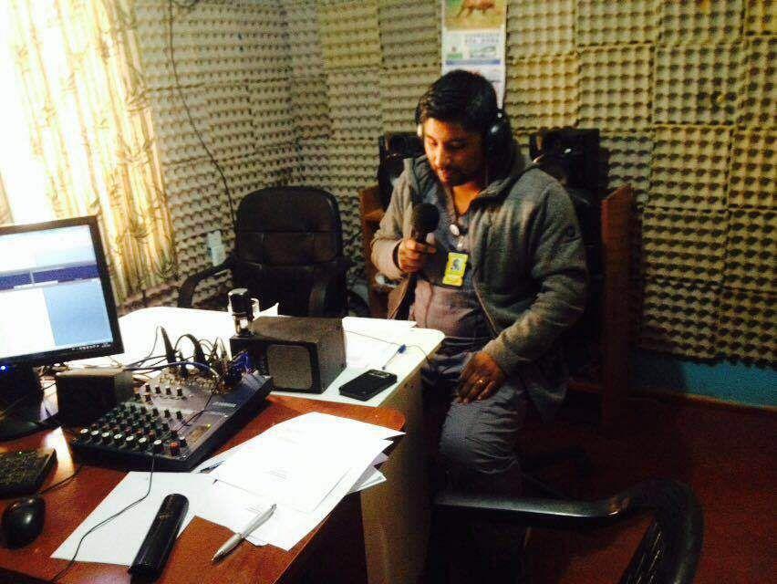Asistencia Funcionarios CESFAM Ch.Alto Radio Dimensión