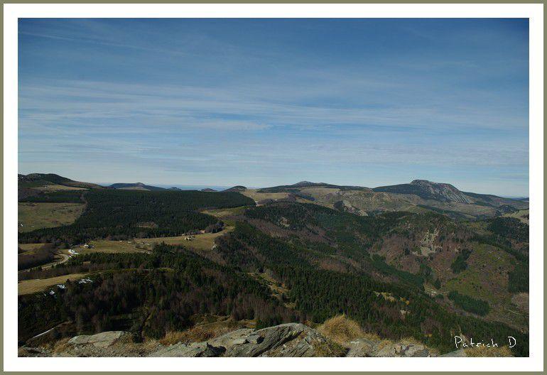 Du haut du Mont Gerbier de Jonc