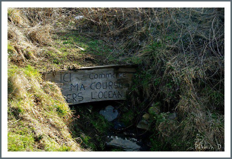 Les sources de la Loire