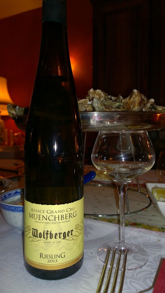 Alsace, Riesling Wolfberger, Grand Cru Muenchberg, 2013
