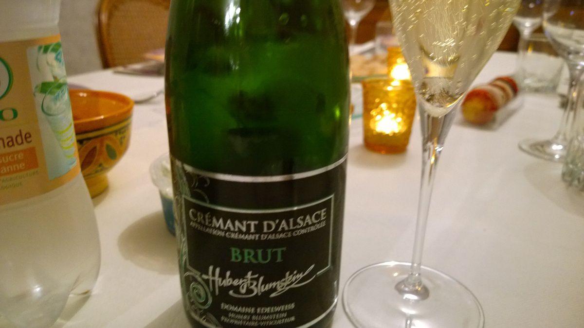 Alsace, Crémant Brut, Blumstein