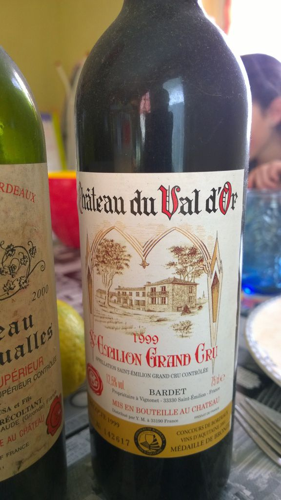Bordeaux, Saint-Emilion Grand Cru, Val d'Or, 1999