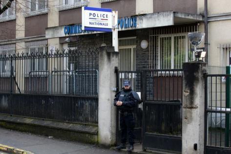 Le commissariat d'Aulnay-sous-Bois. Photo AFP