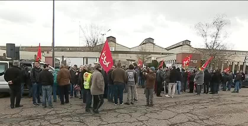 Les salariés de Castmetal à Feurs contestent les suppressions de postes