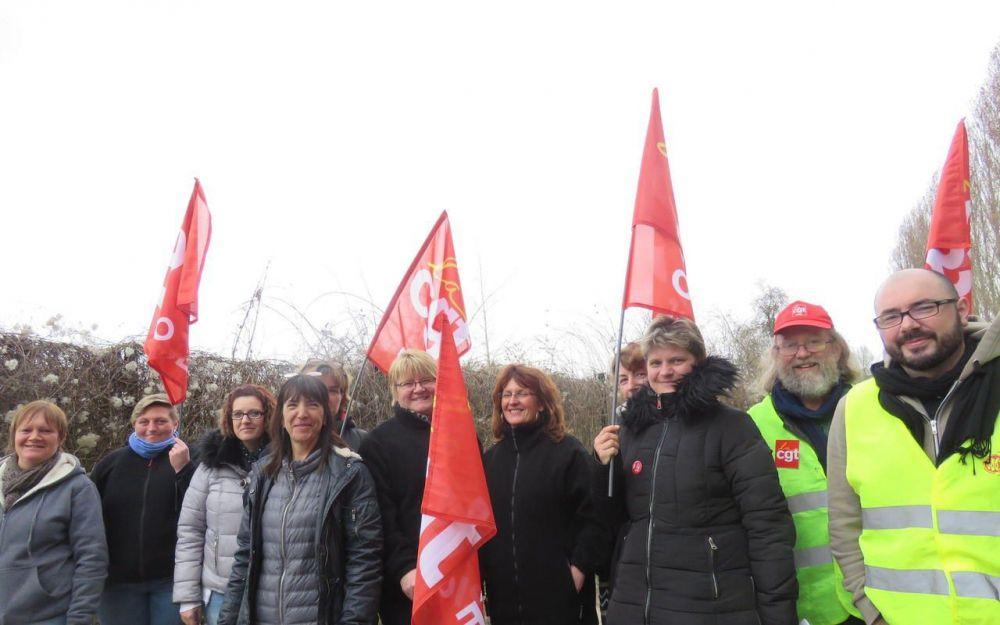 Hermes : les salariés de La Brosse et Dupont toujours en grève