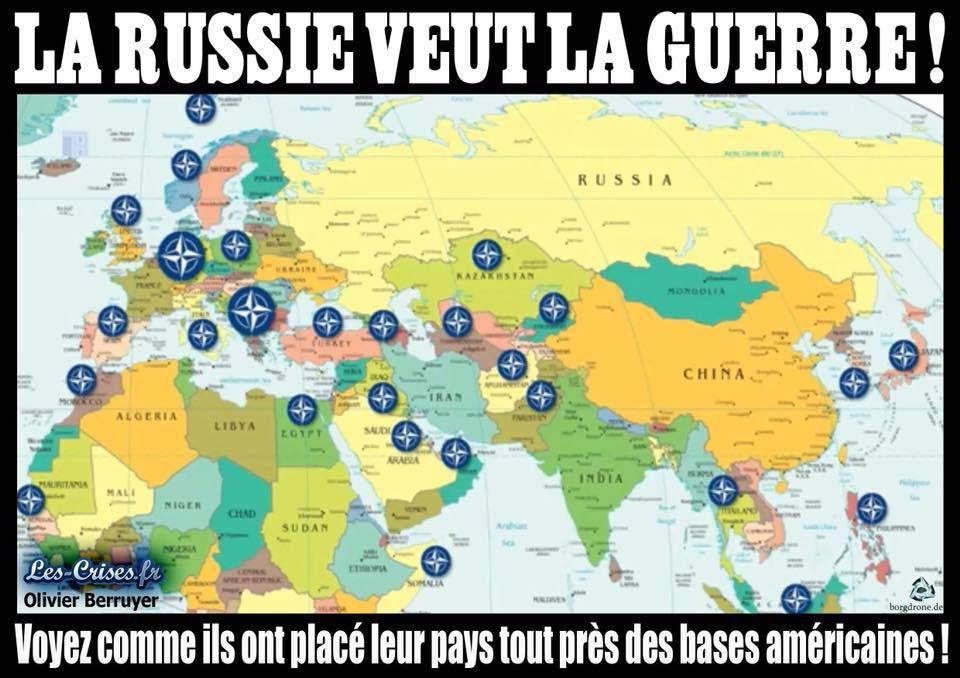 La Russie veut la guerre ....