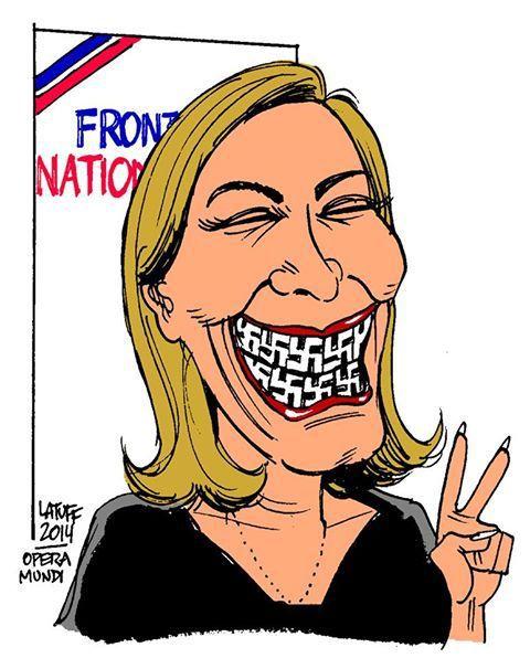 1er Mai : barrage social à Marine Le Pen