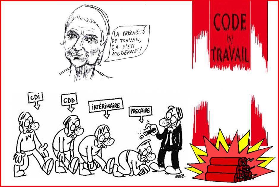 Réforme du travail : les 8 points clés du plan Macron ou la catastrophe sociale et démocratique !