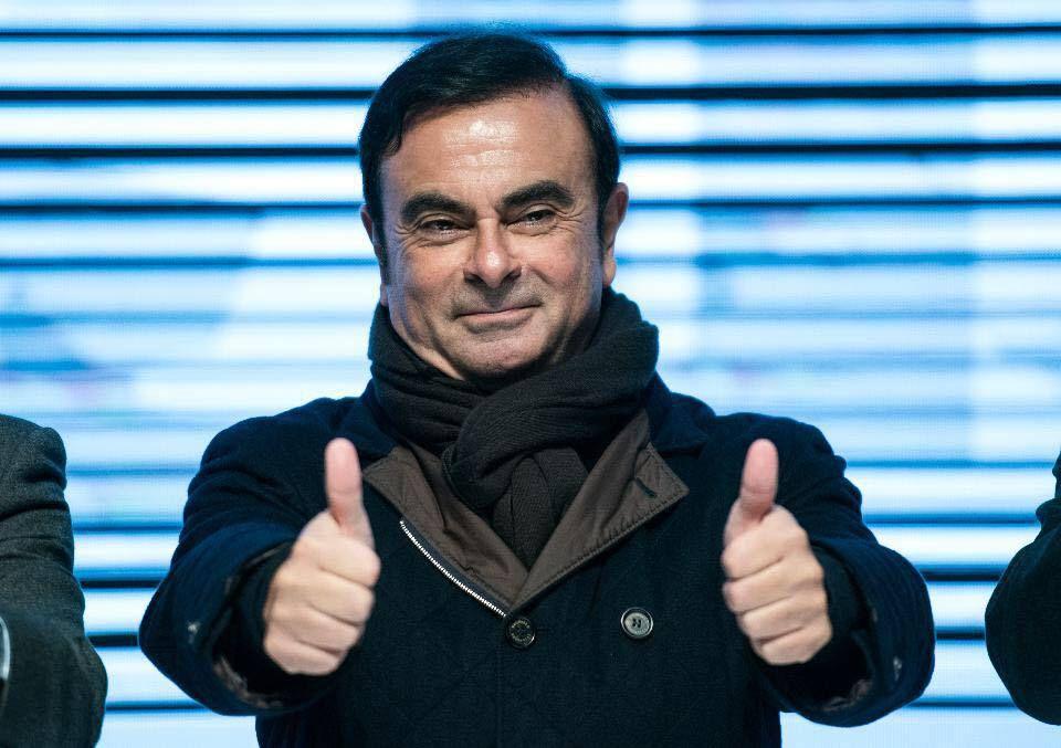 Carlos Ghosn, Président Directeur Général de Renault et Président de Nissan.