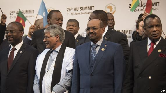 "A South African judge has ordered authorities to prevent Sudanese President Omar al-Bashir from leaving the country after the International Criminal Court called for him to be arrested at an African Union summit there.  ""President Omar al-Bashir of Sudan is prohibited from leaving the Republic of South Africa until the final order is made in this application,"" Judge Hans Fabricius said in his ruling.  Sudan's State Minister for Foreign Affairs Kamal Ismail said Bashir would return home after the main session of the summit.  Despite calls for his arrest, Sudan's president looked relaxed and confident as he lined up with other African heads of state for a group picture at the AU summit. But around him, a firestorm is brewing.  ICC arrest warrant  President Omar al-Bashir is the target of an arrest warrant by the International Criminal Court. He has been indicted for crimes against humanity and genocide in the western Darfur region of Sudan. South Africa is a member state of the international court and so, legal experts argue, the nation is obliged to arrest him.  Institute of Security Studies managing director Anton du Plessis says he agrees with the prominent South African and international groups that have demanded Bashir's arrest.  ""The South African government is arguing that the immunity provision agreement that it has with the AU means that it does not need to comply with its obligations under the Rome Statute of the Security Council to arrest him,"" he said. ""Our view on that is that it is incorrect, and that in fact the obligations are very much still in place and that South Africa does have an obligation to arrest and hand President Bashir over. That is also the opinion of the International Criminal Court, which last night the pre-trial chamber issued a very clear order which clarifies this position.""  But there were no manacles on the president as he lined up and chatted with South African President Jacob Zuma and Zimbabwean President Robert Mugabe. Instead, Bashir stood in the front row of the group photo, smiled and flashed a thumbs-up sign.  Bashir's situation is far from stable. On Sunday, a South African court issued an urgent interdiction to bar him from leaving South Africa until the court hears the appeal calling for his arrest. But it is not clear how that will be enforced.  The Sudanese president reportedly entered, like many other African heads of state here for the summit, on an official plane that landed at a South African air force base in the capital, Pretoria.  South Africa's delicate position  South Africa's president previously said, in 2009, that he will call for Bashir's arrest if he enters South Africa.  Du Plessis says this affair reflects badly on South Africa.  ""What it does say about South Africa is that although our government is taking a particular position on this, we still have a very robust civil society, we still have a very independent independent judiciary, and I hope that by the end of this the message will be clear that you can not just be alleged of committing these crimes and just come to South Africa and no one says anything,"" he said.  The African Union has previously argued the court is biased against African nations. Author David Hoile says he agrees with this position.  ""What the AU should do, certainly en masse or bilaterally, is actually leave the ICC,"" he said. ""It is a dysfunctional court. It is not working properly and I think it is irretrievably flawed. With regards to what South Africa should do, again I think this is actually pretty clear. In terms of the U.N. Vienna Convention on diplomatic immunity, any sitting head of state has sovereign immunity.""  Bashir appears to be in that situation within the plush halls of the AU Summit. But what happens once he leaves these doors is anyone's guess."