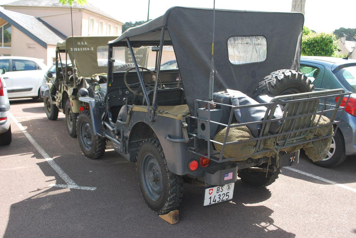 Jeep SUISSE vue à Arromanche