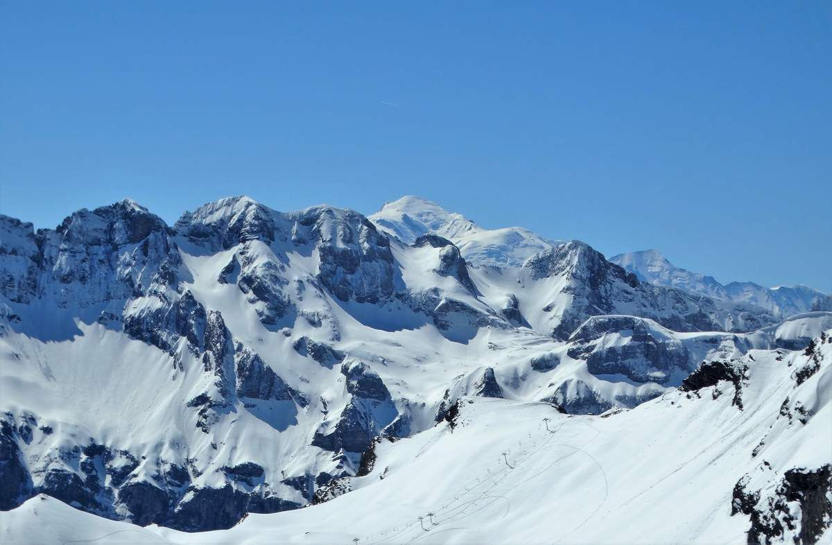 Dents Blanches ...Mont Blanc.....