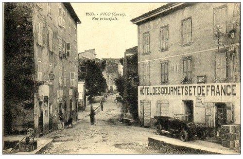 Album - VILLAGES-CORSE-DU-SUD-1900-1945 M-Z