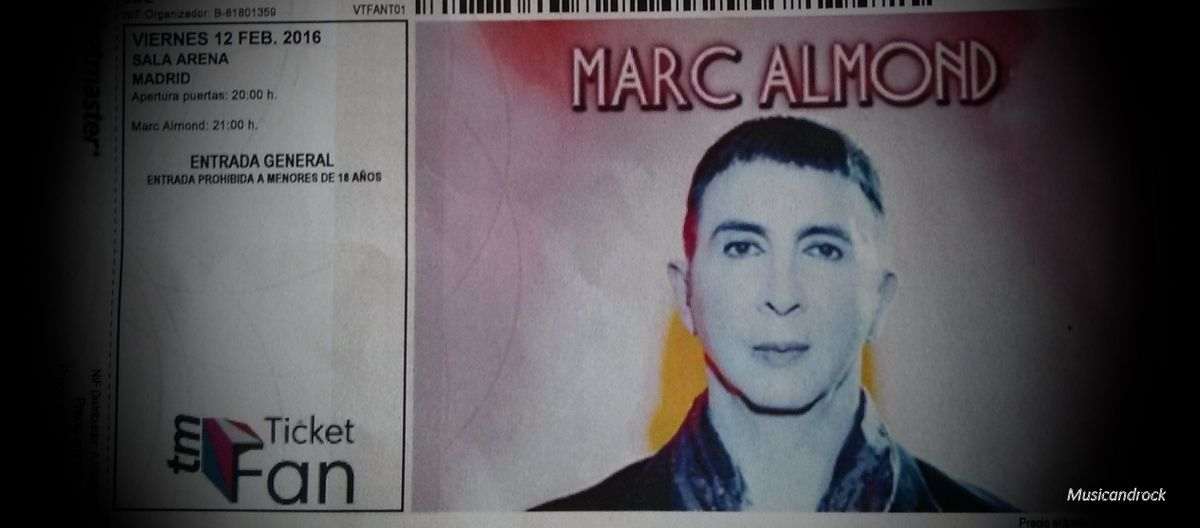 Marc Almond, a &quot&#x3B;Brilliant Creature&quot&#x3B; in Madrid