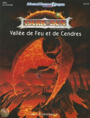 AD&D2 : Dark Sun : Vallée de Feu et de Cendres