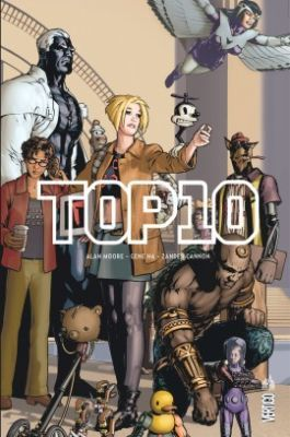 Top 10, d'Alan Moore, Gene Ha et Zander Cannon